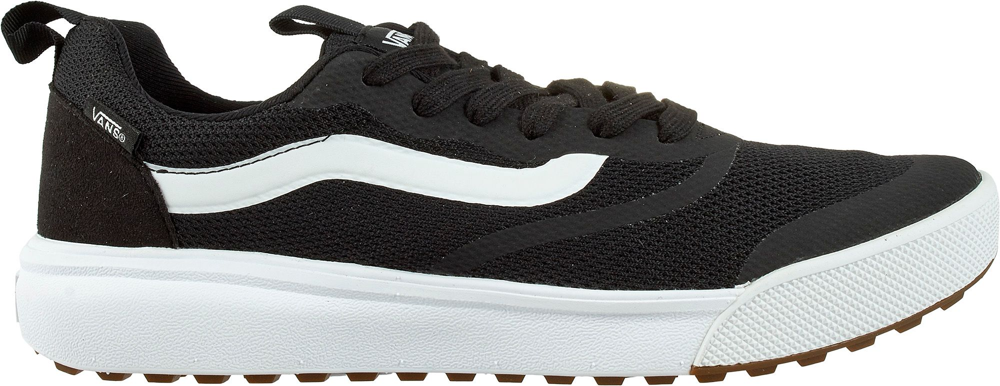 vans running shoes black