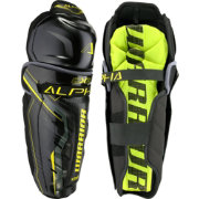 Warrior Junior Alpha QX3 Ice Hockey Shin Guards
