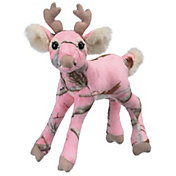 Wildlife Artists Realtree APC Pink Camo Whitetail Deer Stuffed Animal