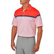 Walter Hagen Men's Distinguished Colorblock Stripe Golf Polo