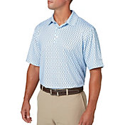Walter Hagen Men's Geomagnetic Print Golf Polo