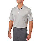 Walter Hagen Men's Stripe Golf Polo - Big & Tall