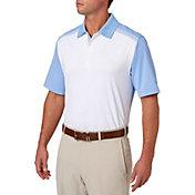Walter Hagen Men's Solid Colorblock Golf Polo