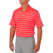 Walter Hagen Men's Essentials Wide Stripe Golf Polo