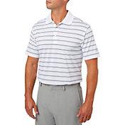 Walter Hagen Men's Essentials Wide Stripe Golf Polo