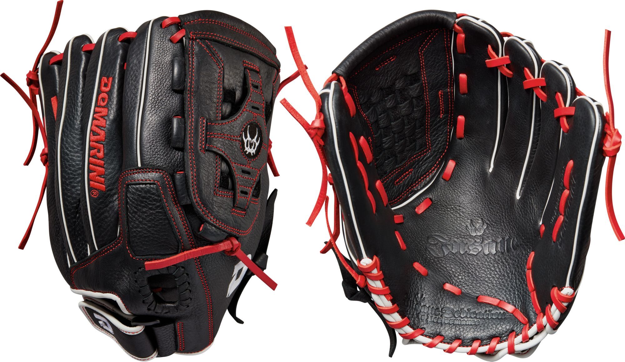 Slow pitch softball gloves for adults dicks sporting goods product image demarini 13 insane series slow pitch glove 2017 sciox Choice Image