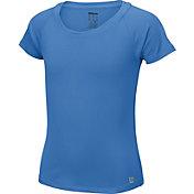 Wilson Girls' Core Cap Sleeve Tennis Shirt