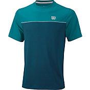 Wilson Men's Star Bonded Crew Tennis T-Shirt