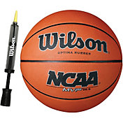 Wilson NCAA MVP Basketball w/ Pump (28.5'')