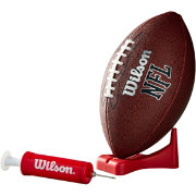 Wilson MVP Official Football w/ Pump and Tee