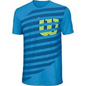 Wilson Boys' Lined W Tech Tennis T-Shirt