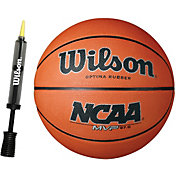 Wilson NCAA MVP Youth Basketball w/ Pump (27.5'')
