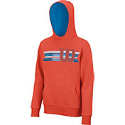 Wilson Boys' Stripe W Pullover Tennis Hoodie