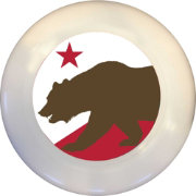Wild Sports California State Flag Flying Disc