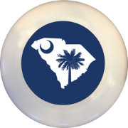 Wild Sports South Carolina State Flag Flying Disc