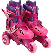 Playwheels Girls' Disney Princess 2-in-1 Inline Skates
