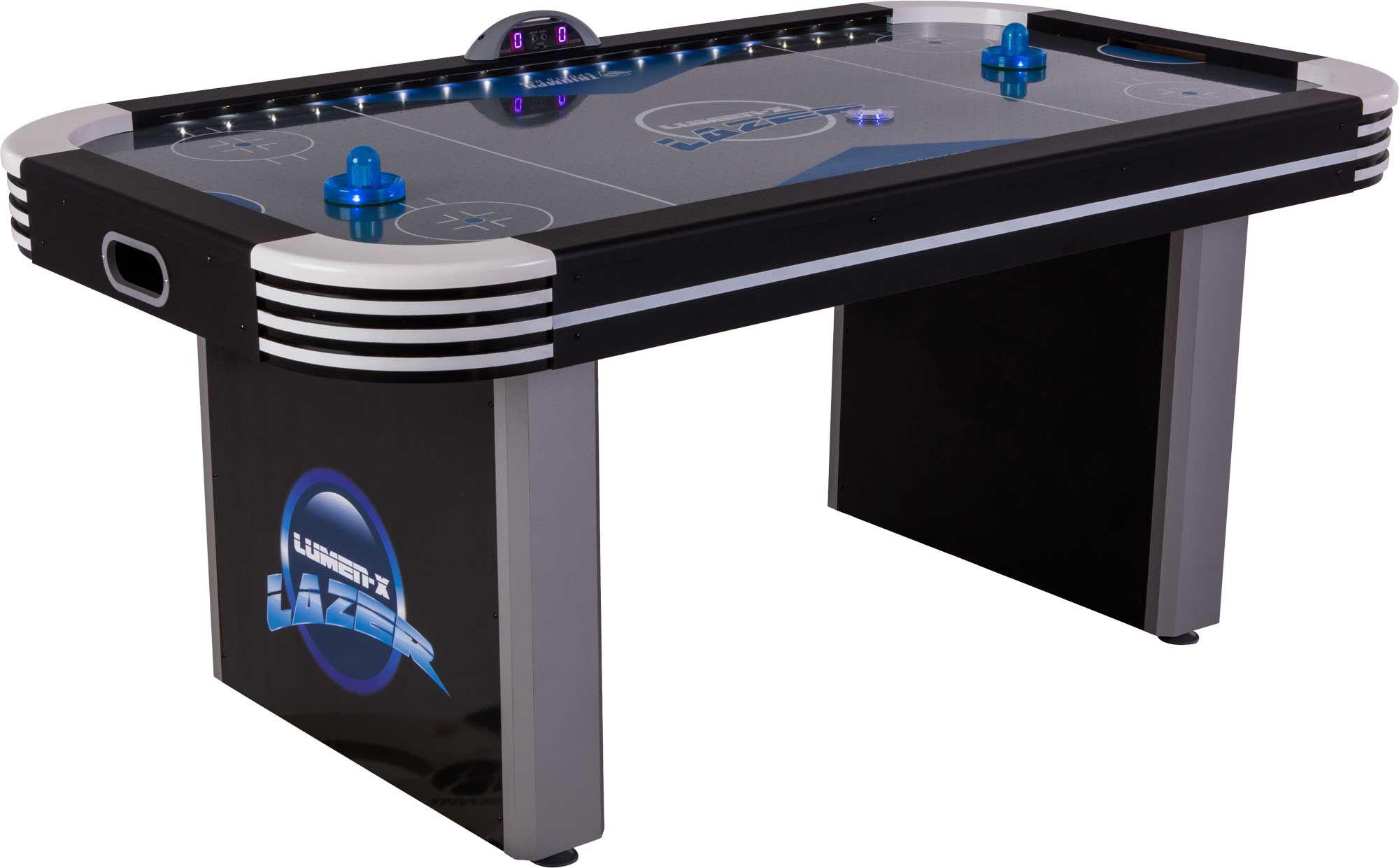 Triumph Lumen X Lazer 6u0027 Air Hockey Table