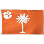 WinCraft Clemson Tigers State Deluxe Flag