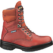 """Wolverine Men's DuraShocks SR 8"""" Steel Toe Work Boots"""