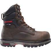 Wolverine Men's Nation 8'' Durashock Composite Toe Work Boots
