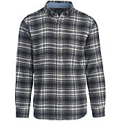 Woolrich Men's Trout Run Plaid Flannel Long Sleeve Shirt