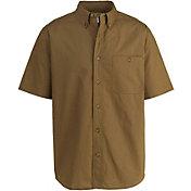 Woolrich Men's Tall Pine Ripstop Button Down Short Sleeve Shirt