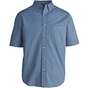 Woolrich Men's Tall Pine Ripstop Button Down Short Sleeve Shirt