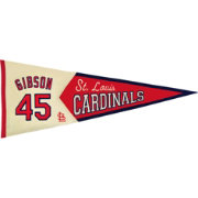 St. Louis Cardinals Bob Gibson Legends Pennant