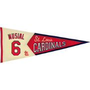 St. Louis Cardinals Stan Musial Legends Pennant