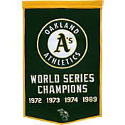Oakland Athletics Dynasty Banner