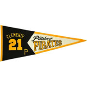 Pittsburgh Pirates Roberto Clemente Legends Pennant