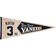New York Yankees Babe Ruth Legends Pennant