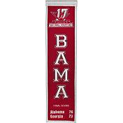 Winning Streak 2017 National Champions Alabama Crimson Tide Championship Banner