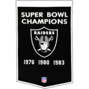 Winning Streak Oakland Raiders Dynasty Banner