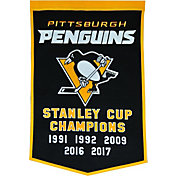 2017 Stanley Cup Champions Pittsburgh Penguins Dynasty Banner