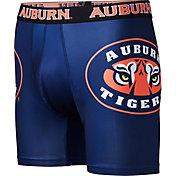 Fandemics Men's Auburn Tigers Black Boxer Brief Style Base Layer