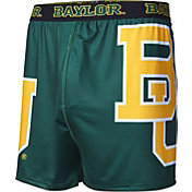 Fandemics Men's Baylor Bears Green Center Seam Base Layer Boxers
