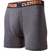 Fandemics Men's Clemson Tigers Grey Boxer Briefs