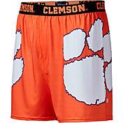 Fandemics Men's Clemson Tigers Orange Center Seam Base Layer Boxers
