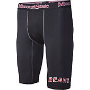 Fandemics Men's Missouri State Bears BaseFit Black Compression Shorts