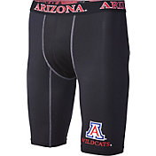 Fandemics Men's Arizona Wildcats BaseFit Black Compression Shorts