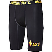 Fandemics Men's Arizona State Sun Devils BaseFit Black Compression Shorts