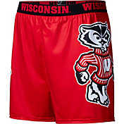 Fandemics Men's Wisconsin Badgers Red Center Seam Base Layer Boxers