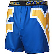 Fandemics Men's West Virginia Mountaineers Blue Center Seam Base Layer Boxers