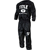 TITLE Boxing Pro Nylon Sweat Suit