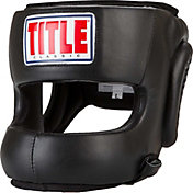 TITLE Boxing Classic Face Protector Headgear