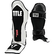 Title Boxing Gel Elite Pro Shin and Instep Guards