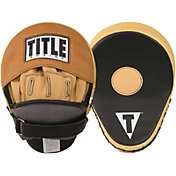 TITLE Genuine Leather Super Punch Mitts