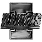 Team Promark Illinois Fighting Illini Chrome Auto Emblem