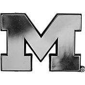 Team Promark Michigan Wolverines Chrome Auto Emblem